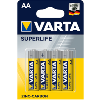 VARTA Batterie Mignon AA SUPERLIFE 1,5 V 4er Set